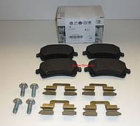 Колодки тормозные задние, комплект Volkswagen, Audi, Skoda