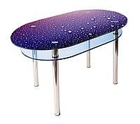 Стол стеклянный КС-6 (фотопечать) 1000х600х750