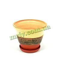 Горшок керамический для цветов Ребус №2 І V3,3