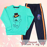 Спортивный костюм с лампасами для мальчика от 4 до 7 лет (4928-4)