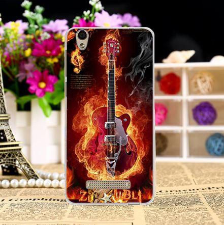 Оригинальный чехол-накладка для ZTE Blade X3 / A452 с картинкой Гитара