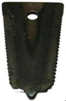 Пластина противорежущая Нива, Дон Н.066.056 (на палец жатки)