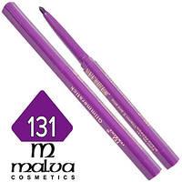 Malva - Карандаш M-300 для губ механический Тон №131 black pepper матовый