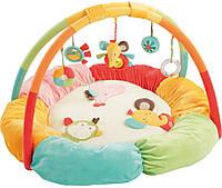 BabyFehn Развивающий коврик BabyFehn 3-D гнездо Сафари (74611)