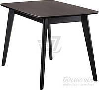 Обеденный деревянный стильный стол венге 120 см