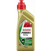 Моторное масло CASTROL полусинтетическое POWER 1 RACING 4T 10W40 1L
