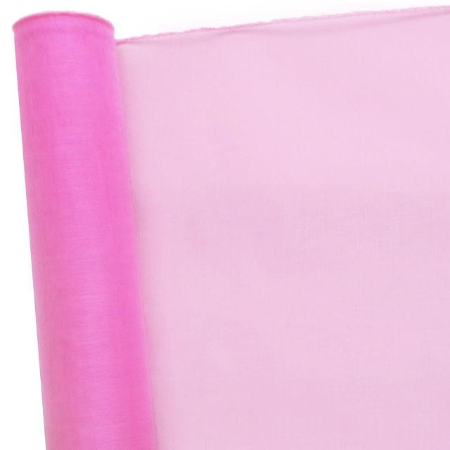 Органза розовая 48х10 ярдов