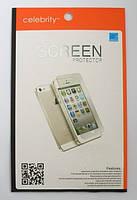 Защитная пленка Celebrity для iPhone 5 5S 2в1, clear