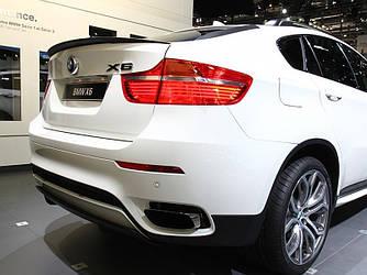 Спойлер сабля тюнинг BMW X6 E71 стиль M Performance