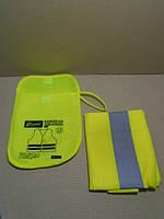 Майка желтая светоотражающая Elegant (сумка)