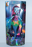 Кукла MONSTER GIRL русалка Scarrier Reef, в коробке