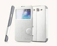 Yoobao Fashion leather case for Samsung i9150 Galaxy Mega 5,8, white (LCSAMI9150-FWT)