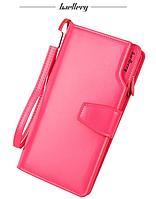"""Кошелек женский клатч """"Baellerry woman"""" розовый , фото 1"""