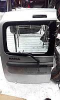 Дверь задняя Рено Логан MCV распашная левая под стекло