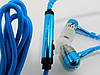 Гарнитура для телефона Zipper Metal с микрофоном и кнопкой ответа, Голубая, фото 6