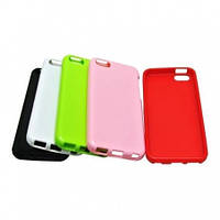 Jelly TPU cover case for Samsung i8190 Galaxy S3 Mini, white