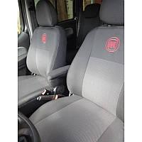 Чехлы модельные для Fiat Doblo 2000-2009 Компактвэн 5 мест  Elegant-CLASIC №083 черные