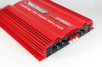 Четырехканальный усилитель звука в машину CAR AMP 500.4 Cougar, мостовой режим, 1600 Вт, 20 Гц-20 кГц