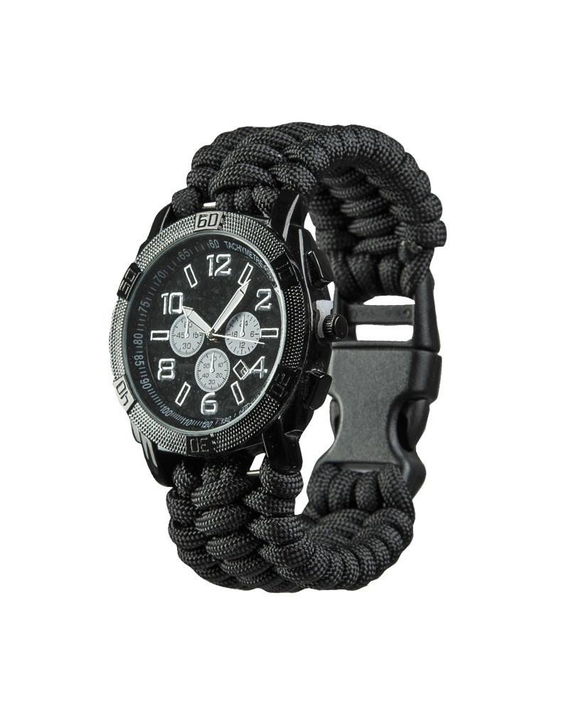Часы с браслетом из паракорда MilTec Army Paracord 15774002