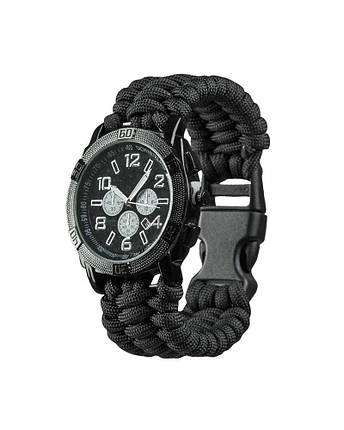 Часы с браслетом из паракорда MilTec Army Paracord 15774002, фото 2