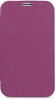 Melkco Book leather case for Samsung i8160 Galaxy Ace II, purple (SSAC81LCFB2PELC)
