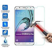 Защитное стекло для Samsung J500  с закругленными краями Veron