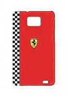 Ferrari Formula 1 back cover for Samsung i9105/i9100 Galaxy S II Plus, red (FEFOG2R)