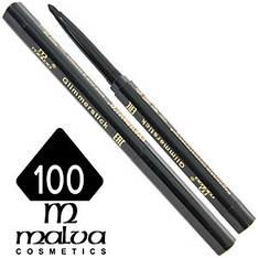 Malva - Карандаш M-300 для глаз механический Тон №100 black матовый