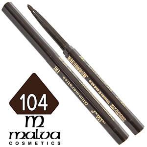 Malva - Карандаш M-300 для глаз механический Тон №104 chocolate матовый