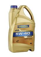 RAVENOL масло моторное 5w-40 VEG /для двигателей с гбо/ - 5 л