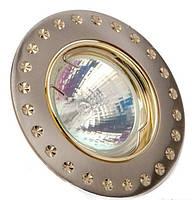 Светильник точечный DELUX HDL16142R MR16 12V титан-золото