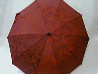 Зонт трость полуавтомат, красный 33_1_5a1