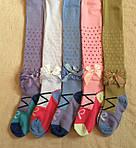 Колготки детские модные с бантиками, хорошие, фото 2
