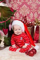 Новогодняя Шапка Детская Взрослая Деда Мороза Колпак Санта Клауса Santa Claus, фото 1