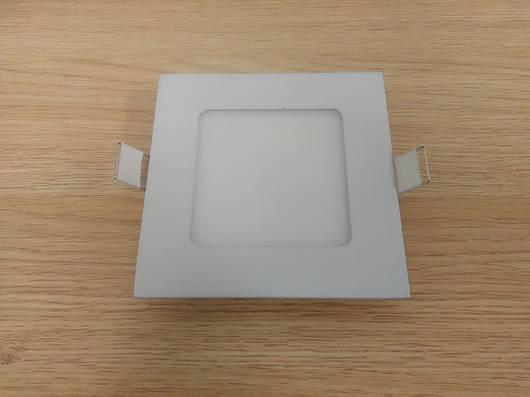 Светильник врезной LED  Downlight  6W 4200K  размер 120*120 мм Квадратный  алюминиевый корпус