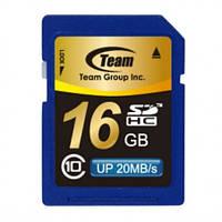 SDHC 16GB Class 10 Team  (TSDHC16GCL1001)
