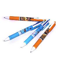 """Ручка 4-цветная """"Ягодки"""", """"Принцессы"""", """"Самолеты"""", """"Холодное сердце"""", """"Смайлы"""", фото 1"""