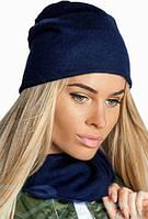 Красивая женская Шапка+шарф