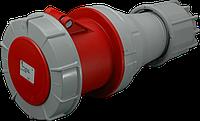 Розетка переносная ISG  (IP 67), 125A, 400V, 4 полюса, dop. Kontakt (ISGN 12543-p)