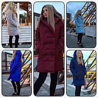 Женская пальто OverSize свободного кроя
