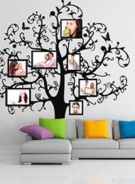 3D наклейки на стену с фото