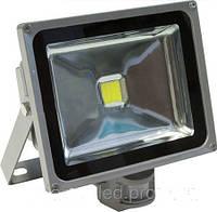 Прожектор диодный  IP65  30 W LEMANSO 65000К с датчиком движения LMPS30