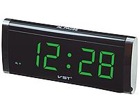 Электронные сетевые часы VST-730-4   .dr