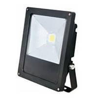 Прожектор диодный  IP65  50 W LEMANSO черный ТОНКИЙ 6500К LMP2-50