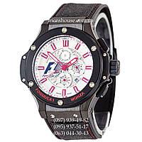 Бюджетные часы Hublot King Power F1 Monza Automatic Black-Red/White