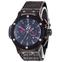 Бюджетные часы Hublot King Power F1 Automatic All Black-Red