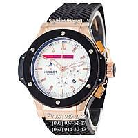 Бюджетные часы Hublot Big Bang Luna Rossa Automatic Black/Gold/White