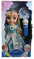 """Кукла """"Frozen"""" ZT8784, на батарейке, с микрофоном, героиня мульфильма, музыкальное шоу с куклой, в коробке"""