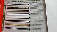 Труба /штанга гладкая для карниза металлического 19 мм 1,6 м