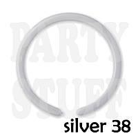 Шарики для моделирования 260 Gemar DM4 серебро металлик, 100 шт